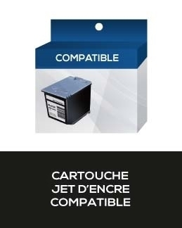 CARTOUCHE COMPATIBLE BROTHER LC61BK